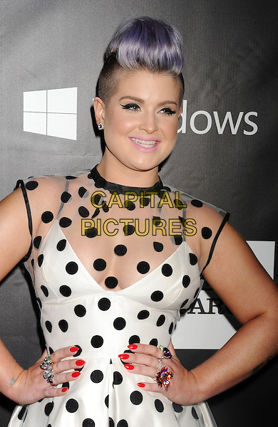 HOLLYWOOD, CA- OCTOBER 29: TV personality Kelly Osbourne attends amfAR LA Inspiration Gala honoring Tom Ford at Milk Studios on October 29, 2014 in Hollywood, California.<br /> CAP/ROT/TM<br /> &copy;TM/ROT/Capital Pictures