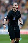 Referee Bobby Madley during the premier league match at the Turf Moor Stadium, Burnley. Picture date 19th April 2018. Picture credit should read: Simon Bellis/Sportimage
