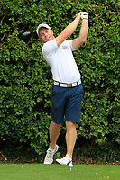 Cathal Butler (Kinsale) on the 17th tee during the AIG Barton Shield Munster Final 2018 at Thurles Golf Club, Thurles, Co. Tipperary on Sunday 19th August 2018.<br /> Picture:  Thos Caffrey / www.golffile.ie<br /> <br /> All photo usage must carry mandatory copyright credit (© Golffile   Thos Caffrey)