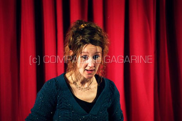 Hilde Rogge at the Ijsbreker vertellers Festival in Ghent (Belgium, 04/02/2007)