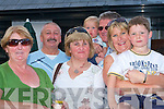 FUN: Enjoying the parade at the Ardfert Summer Festival on Sunday l-r: Cait McCarthy, Tony and Eilleen Murphy, Killian, Vic, Letitia and Eoghan Goggin.   Copyright Kerry's Eye 2008