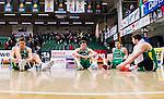 S&ouml;dert&auml;lje 2015-02-03 Basket Basketligan S&ouml;dert&auml;lje Kings - Norrk&ouml;ping Dolphins :  <br /> S&ouml;dert&auml;lje Kings Carl Engstr&ouml;m , Aaron Andersson , Christopher Czerapowicz och Darko Jukic deppar efter matchen mellan S&ouml;dert&auml;lje Kings och Norrk&ouml;ping Dolphins <br /> (Foto: Kenta J&ouml;nsson) Nyckelord:  S&ouml;dert&auml;lje Kings SBBK T&auml;ljehallen Norrk&ouml;ping Dolphins depp besviken besvikelse sorg ledsen deppig nedst&auml;md uppgiven sad disappointment disappointed dejected