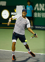 FELICIANO LOPEZ (ESP)<br /> <br /> The Shanghai Rolex Masters - Shanghai, China  ATP - 2015 - ATP 1000 - China - 2015, ATP, Men's singles, men's doubles, sport, tennis, indoor, hard court, tournament, event, championship, Frey, AMN IMAGES<br /> <br /> &copy; AMN IMAGES