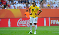 Marta of team Brazil during the FIFA Women's World Cup at the FIFA Stadium in Dresden, Germany on July 10th, 2011.