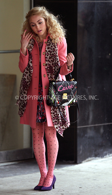 WWW.ACEPIXS.COM....February 6 2013, New York City....Actress AnnaSophia Robb was on the set of 'The Carrie Diaries' on February 6 2013 in New York City....By Line: Zelig Shaul/ACE Pictures......ACE Pictures, Inc...tel: 646 769 0430..Email: info@acepixs.com..www.acepixs.com