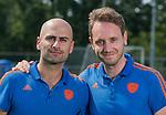 ALMERE - Nederlands Jongens A 2019 .  Bondscoach Pasha Gademan. met assistent Steven van Tijn.  COPYRIGHT KOEN SUYK
