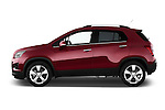 Driver side profile view of a 2013 Chevrolet TRAX LT+ 5 Door Suv 2WD