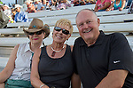 Chris Cox, Bonnie Ivins and John Breternite before the Reno Rodeo on Saturday, June 20, 2015.