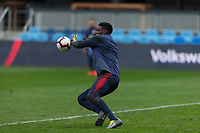 San Jose, CA - February 1, 2019: The USMNT trains at Avaya Stadium in preparation before a friendly against Costa Rica.