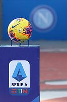 Ball and banner Serie A <br /> Napoli 09-02-2020 Stadio San Paolo <br /> Football Serie A 2019/2020 SSC Napoli - US Lecce<br /> Photo Cesare Purini / Insidefoto