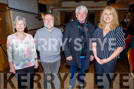Eilish Daly, Enda O'Brien, John Regan and Geraldine Cleary enjoying the Lay Dominicans Christmas Party in Kerins O'Rahillys on Sunday.