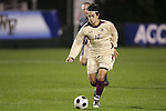 14 November 2008: Boston College's Mor Avi Hanan. The University of Maryland defeated Boston College 1-0 at WakeMed Stadium at WakeMed Soccer Park in Cary, NC in a men's ACC tournament semifinal game.