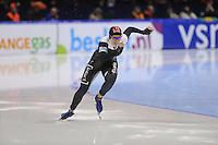 SCHAATSEN: HEERENVEEN: IJsstadion Thialf, 17-11-2012, Essent ISU World Cup, Season 2012-2013, Ladies 2nd 500 meter Division A, Christine Nesbitt (CAN), ©foto Martin de Jong
