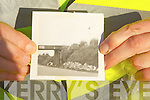 Images from 1973 of the old railway bridge in Abbeyfeale which was demolished after been struck by a high vehicle, images by Liam O'Mahony, Great Southern Trail.