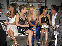 JENNIFER LOPEZ HILARY DUFF DONATELLA VERSACE ALICE KIM NICOLAS CAGE  2006<br /> Photo By John Barrett/PHOTOlink.net