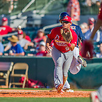 4 March 2016: St. Louis Cardinals infielder Jonathan Rodriguez in action during a Spring Training pre-season game against the Houston Astros at Osceola County Stadium in Kissimmee, Florida. The Cardinals fell to the Astros 6-3 in Grapefruit League play. Mandatory Credit: Ed Wolfstein Photo *** RAW (NEF) Image File Available ***