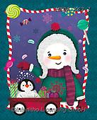 Dreams, CHRISTMAS ANIMALS, WEIHNACHTEN TIERE, NAVIDAD ANIMALES, paintings+++++,MEDAX63/1,#XA#