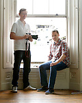14/07/2014<br /> Ronan Cassidy and Mark Griffin, film makers with  Behind The Scenes.<br /> Picture: Don Moloney / Press 22