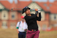 Thidapa Suwannapura (THA) on the 2nd fairway during Round 3 of the Ricoh Women's British Open at Royal Lytham &amp; St. Annes on Saturday 4th August 2018.<br /> Picture:  Thos Caffrey / Golffile<br /> <br /> All photo usage must carry mandatory copyright credit (&copy; Golffile | Thos Caffrey)