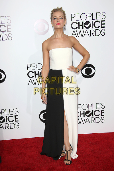 LOS ANGELES, CA - JANUARY 8: Beth Behrs at the 40th Annual People's Choice Awards at the Nokia Theatre in Los Angeles,California on January 8, 2014. <br /> CAP/MPI/JO<br /> &copy;Janice Ogata/MPI/Capital Pictures