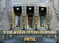 Nederland Amsterdam 2015 10 27 . Gevel van Theater Tuschinski in de Reguliersbreestraat. Foto Berlinda van Dam / Hollandse Hoogte