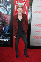 Colton Dixon at the premiere of Columbia Pictures' 'The Amazing Spider-Man' at the Regency Village Theatre on June 28, 2012 in Westwood, California. &copy; mpi22/MediaPunch Inc. *NORTEPHOTO.COM*<br />