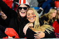 25th July 2020, Christchurch, New Zealand;  Fans during the Super Rugby Aotearoa, Crusaders versus Hurricanes at Orangetheory stadium, Christchurch