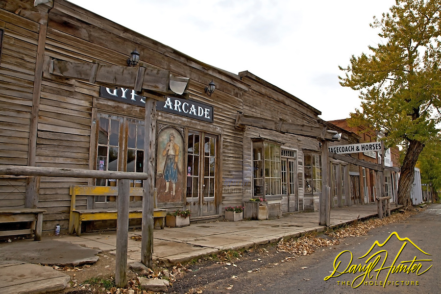Ghost Town, Virginia City Montana