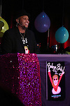 Andrae Alexander during Allee Willis's 'Ba-de-ya Baby! Or: How I Learned to Love Theatre' for La Mama's 55th Anniversary Gala at La Mama on November 10, 2016 in New York City.