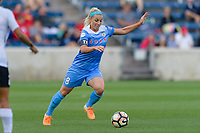 Bridgeview, IL - Sunday June 25, 2017: Julie Johnston Ertz during a regular season National Women's Soccer League (NWSL) match between the Chicago Red Stars and Sky Blue FC at Toyota Park. The Red Stars won 2-1.