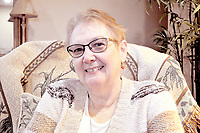 RACHEL DICKERSON/MCDONALD COUNTY PRESS Alice Snodgrass of Anderson is a retired home economics teacher and librarian and a gun violence survivor.