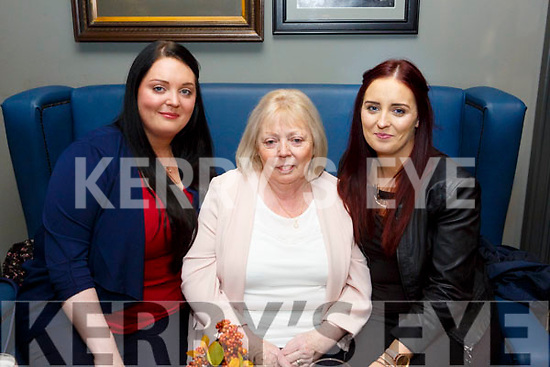Helen Miller, Marie Miller, Sinead Miller at the IMRO Christie Hennessy Song Competition Live Final at the Ashe Hotel on Saturday