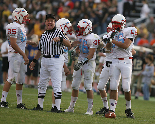 Saint Joseph's High School Varsity Football 2008.Saint Joseph's (20) vs. Penn (34)