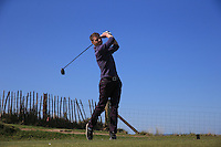 Jonathan Squire during Round Two of the West of England Championship 2016, at Royal North Devon Golf Club, Westward Ho!, Devon  23/04/2016. Picture: Golffile | David Lloyd<br /> <br /> All photos usage must carry mandatory copyright credit (&copy; Golffile | David Lloyd)
