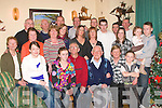MIGHTY EIGHTY: The Great Joe Locke (seated 3rd right) of Boherbue Tralee who celebrated his 80th birthday on Tuesday January 6th, in the comfort of his own home surrounded by his children, grandchildren and great grandchildren.