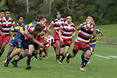 Roller Mills pre-season rugby game between Counties Manukau and Bay of Plenty, played at ECOLight Stadium Pukekohe on Sunday September 17th 2017. Counties Manukau won the game 43 - 8 after leading 26 - 3 at halftime.<br /> Photo by Richard Spranger