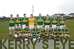 The Kerry team who defeated IT Tralee in the Munster GAA McGrath Football Cup at Strand Road on Saturday.