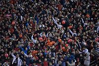 SÃO PAULO,SP, 02.08.2018 - SÃO PAULO-COLÓN – Torcida do Colón  durante partida contra o São Paulo, jogo válido pela segunda fase da Copa Sulamericana 2018, disputada no estádio do Morumbi em São Paulo, nesta quarta-feira, 09. (Foto: Levi Bianco/Brazil Photo Press)