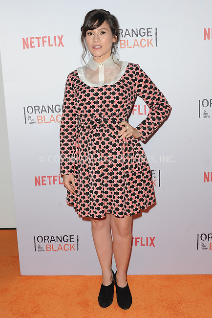 WWW.ACEPIXS.COM<br /> June 11, 2015 New York City<br /> <br /> Yael Stone attending the 'Orangecon' Fan Event at Skylight Clarkson SQ on June 11, 2015 in New York City.<br /> <br /> Credit : Kristin Callahan/ACE Pictures<br /> Tel: (646) 769 0430<br /> e-mail: info@acepixs.com<br /> web: http://www.acepixs.com