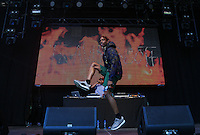 Travis Scott  (Jacques Webster) peforms during The New Look Wireless Music Festival at Finsbury Park, London, England on Friday 03 July 2015. Photo by Andy Rowland.