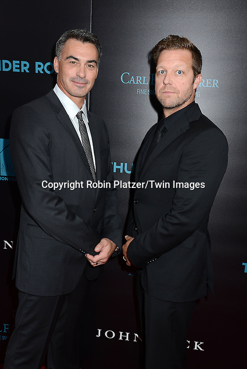 Chad Stahelski and David Leitch attend the Special Screening of &quot;John Wick&quot;  on October 13, 2014 at the Regal Union Square Stadium 14 in New York City.<br /> <br /> photo by Robin Platzer/Twin Images<br />  <br /> phone number 212-935-0770