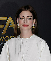 BEVERLY HILLS, CA - NOVEMBER 04: Anne Hathaway attends the 22nd Annual Hollywood Film Awards at The Beverly Hilton Hotel on November 4, 2018 in Beverly Hills, California. <br /> CAP/MPI/SPA<br /> &copy;SPA/MPI/Capital Pictures