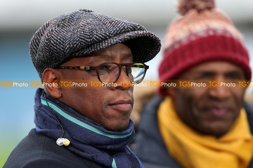 BBC TV pundit Ian Wright looks on ahead of Millwall vs Watford, Emirates FA Cup Football at The Den on 29th January 2017