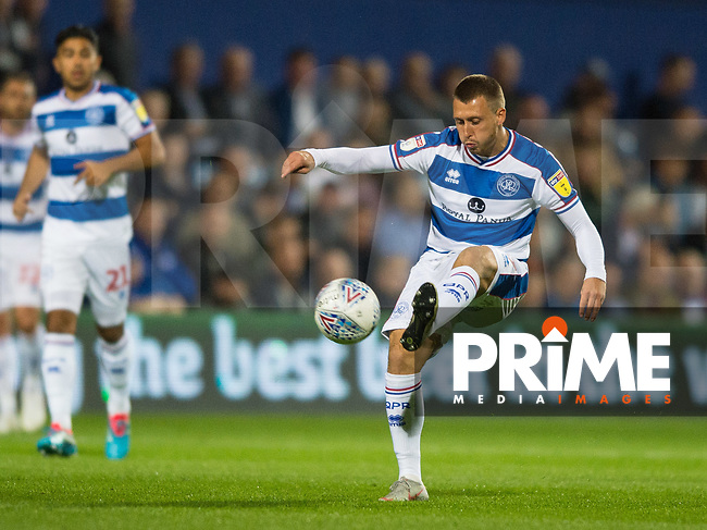 QPR Luke Freeman during the Sky Bet Championship match between Queens Park Rangers and Millwall at Loftus Road Stadium, London, England on 19 September 2018. Photo by Andrew Aleksiejczuk / PRiME Media Images.