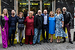 "Carolina Bang, Jaime Ordonez, Terele Pavez, Alex de la Iglesia, Carmen Machi, Blanca Suarez, Joaquim Climent attends the junket of the film ""El bar"" at bar Palentino in Madrid, Spain. March 22, 2017. (ALTERPHOTOS / Rodrigo Jimenez)"