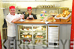 At the sweet counter in New Yorkers Restaurant are Gerald O'Shea and Cindy O'Shea.