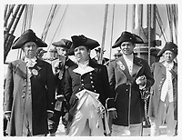 Mutiny on the Bounty (1935) <br /> Clark Gable and Charles Laughton<br /> *Filmstill - Editorial Use Only*<br /> CAP/MFS<br /> Image supplied by Capital Pictures