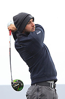 Austin Connelly (CAN) on the 5th tee during Round 1 of the Betfred British Masters 2019 at Hillside Golf Club, Southport, Lancashire, England. 09/05/19<br /> <br /> Picture: Thos Caffrey / Golffile<br /> <br /> All photos usage must carry mandatory copyright credit (© Golffile | Thos Caffrey)
