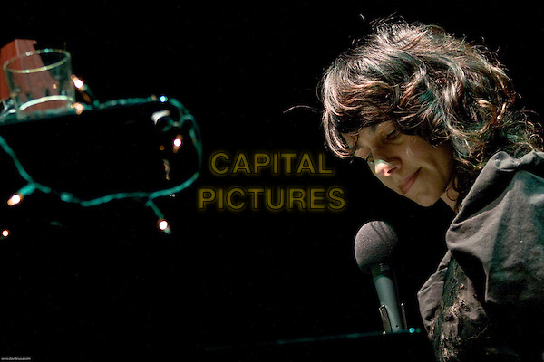 PJ HARVEY.Performs at Auditorium Parco della Musica, Rome Rome, Italy..March 9th, 2008.stage concert live gig performance music singing microphone headshot portrait .CAP/SUS.©Davide Susa/Capital Pictures.