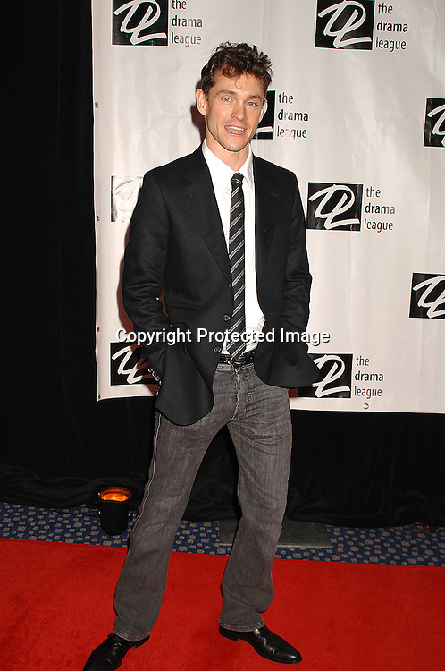Hugh Dancy of Journey's End..posing for photographers at The Drama League Awards Ceremony and Luncheon on May 11, 2007 at The Marriott Marquis Hotel. ..Robin Platzer, Twin Images